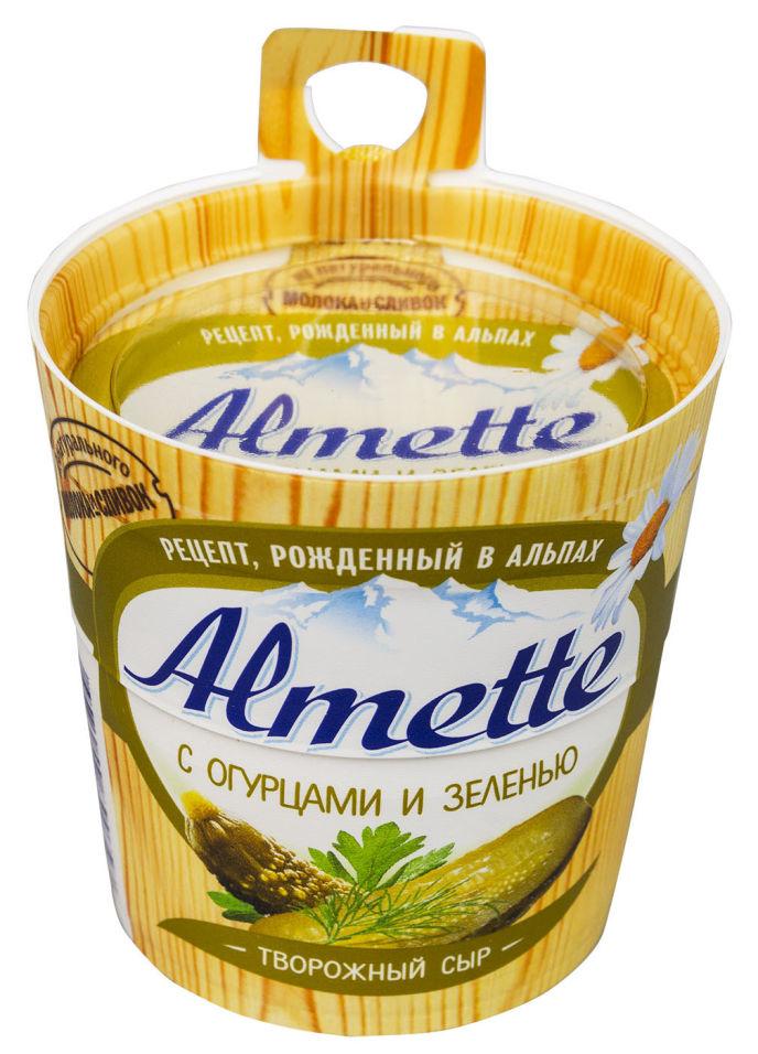 Отзывы о Сыре творожном Almette с огурцами и зеленью 60% 150г