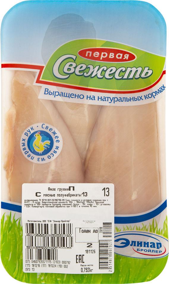 Отзывы о Филе грудки Первая свежесть куриное 0.6-0.9кг