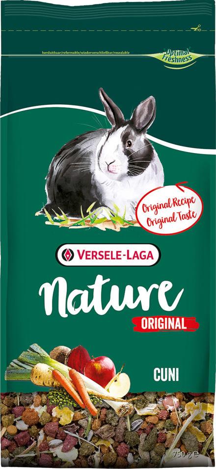 Корм для кроликов Nature Original Cuni 750г