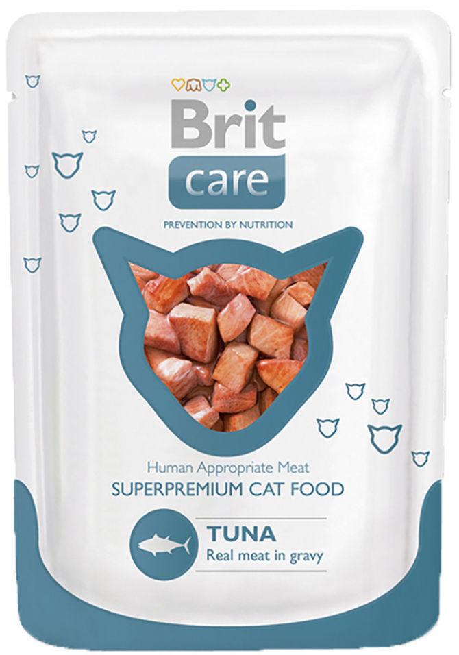 Корм для кошек Brit care Тунец 80г
