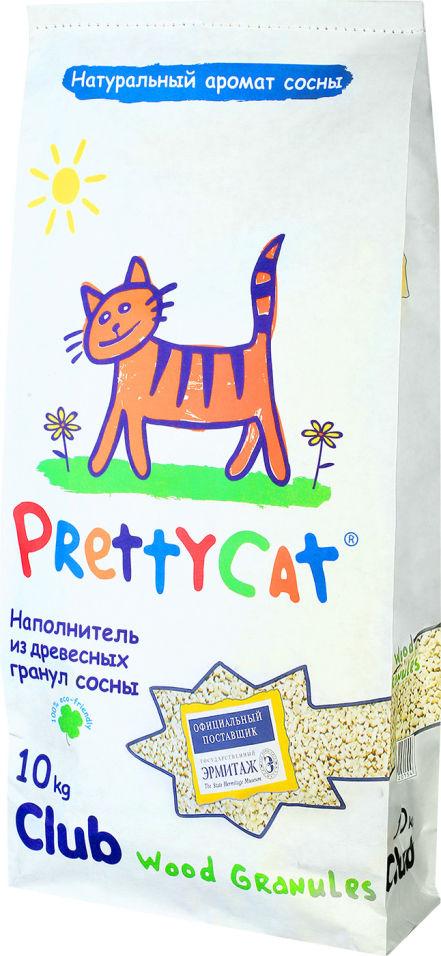 Отзывы о Наполнителе для кошачьего туалета PrettyCat Wood Granules древесный 10кг
