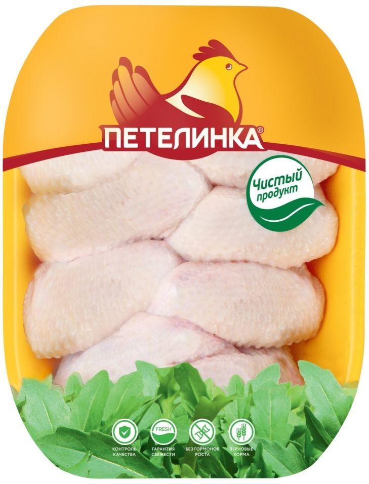 Крылья куриные Петелинка целые 0.7-1.1кг