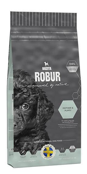 Отзывы о Сухом корме для щенков Bozita Robur Mother&Puppy с крокетами 14кг