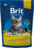Сухой корм для кошек Brit Premium Лосось соус 1.5кг
