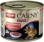 Корм для котят Animonda Carny Kitten Говядина и сердце индейки 200г
