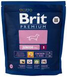 Сухой корм для собак Brit Premium Junior Small с курицей 1кг
