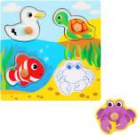Развивающая игрушка Mapacha Вкладыши Море
