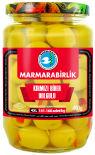 Оливки Marmarabirlik зеленые с перцем Biber 4XL 680г