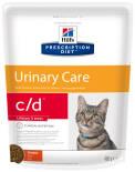 Сухой корм для кошек Hills Prescription Diet c/d Urinary Stress для лечения и профилактики МКБ и цистита с курицей 400г