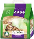 Наполнитель для кошачьего туалета Cats Best Smart Pellets древесный 10л