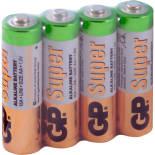 Батарейки GP Super 15A RS-2SB4 AA 1.5В 4шт