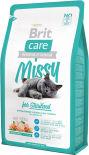 Сухой корм для стерилизованных кошек Brit care для профилактики МКБ с курицей и рисом 2кг