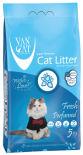 Наполнитель для кошачьего туалета Van Cat Fresh с ароматом весенней свежести 5кг