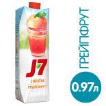 Нектар J-7 Грейпфрут с мякотью 970мл