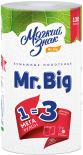 Бумажные полотенца Мягкий знак Mr.Big 1 рулон 2 слоя