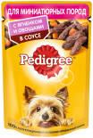 Корм для собак Pedigree с ягненком и овощами в соусе 85г