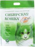 Наполнитель для кошачьего туалета Сибирская кошка Элита ЭКО силикагель 6л
