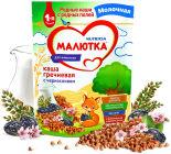 Каша Малютка Молочная гречневая с черносливом 220г