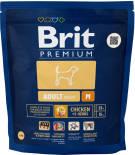 Сухой корм для собак Brit Premium Adult M Курица 1кг