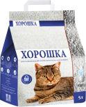 Наполнитель для кошачьего туалета Хорошка впитывающий 5л