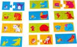 Игра настольная детская Dream Makers Мама и малыш 12 пазлов