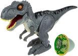 Игровой набор Zuru RoboAlive Робо-Тираннозавр серый + слайм