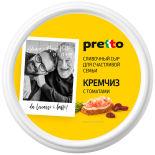 Сыр Pretto Кремчиз с томатами 70% 140г