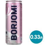 Напиток Borjomi Flavored Water Вишня-Гранат без сахара 330мл