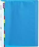 Папка файловая Attache Diagonal 20 файлов синий