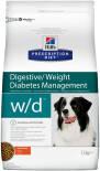 Сухой корм для собак Hills Prescription Diet при сахарном диабете при избыточном весе с курицей 1.5кг