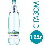 Вода Borjomi минеральная лечебно-столовая газированная 1.25л