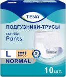Подгузники-трусы Tena Pants Normal для взрослых размер L 100-135см 10шт
