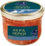 Икра нерки Русское море зернистая лососевая 210г