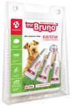 Капли репеллентные Mr. Bruno Green Guard для средних собак весом 10-30кг 2.5мл