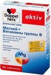 Витамины Doppelherz Магний + Витамины группы В в таб. №30