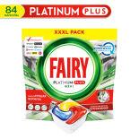 Капсулы для посудомоечных машин Fairy Platinum Plus All in One Лимон 84шт
