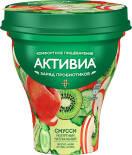 Био йогурт питьевой Активиа Смусси Яблоко киви огурец киноа 1% 250г