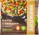 Смесь Vитамин Киноа с овощами и базиликом быстрозамороженная 400г