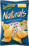 Чипсы Lorenz Naturals с морской солью и перцем 100г