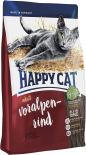 Сухой корм для взрослых кошек Happy Cat Говядина 0.3кг