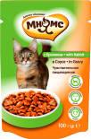 Корм для кошек Мнямс Чувствительное пищеварение с кроликом в соусе 100г