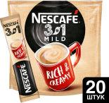 Напиток кофейный Nescafe 3в1 Мягкий 20шт*14.5г