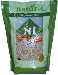 Наполнитель для кошачьего туалета №1 Naturel Зеленый чай 4.5л