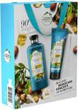 Подарочный набор Herbal Essences Марокканское аргановое масло Шампунь 400мл + Бальзам-ополаскиватель 180мл