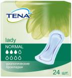 Прокладки Tena Lady Normal урологические 24шт