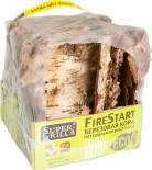 Кора березовая SuperGrill FireStart Натуральная растопка для розжига дров и угля