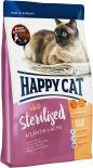 Сухой корм для взрослых кошек Happy Cat Для стерелизованных лосось 1.4кг