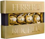 Конфеты Ferrero Rocher хрустящие из молочного шоколада 125г