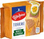 Хлебцы Щедрые Многозерновые тонкие 170г