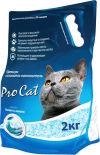 Наполнитель для кошачьего туалета Pro Cat силикагель премиум 2кг